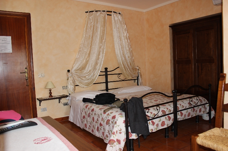 View of my room in La Pisana, Pisa, Tuscany, Italy
