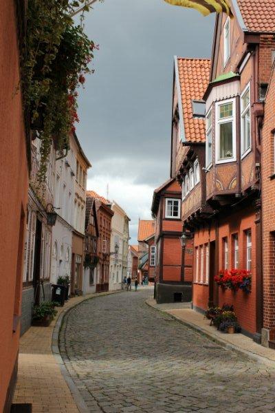 Elbstrasse in Lauenburg