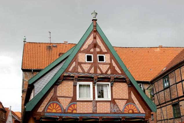oldest house of Lauenburg