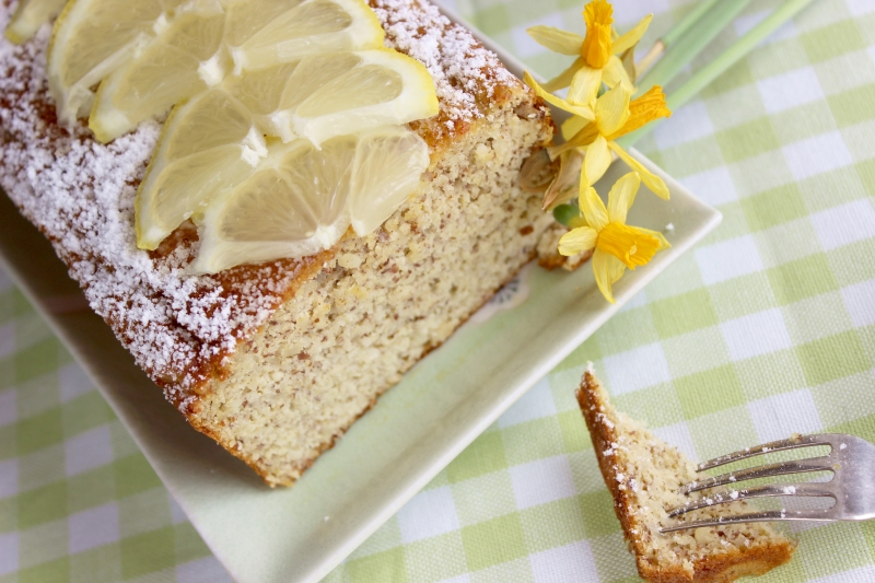 Paleo lemon bread