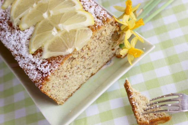 Paleo lemon bread