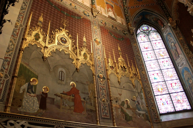 Decoration of the Sanctuary of Loreto, Le Marche/Italy