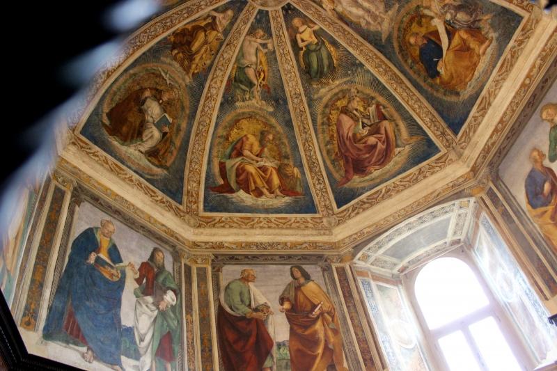 Decoration of the Sanctuary of Loreto, Le Marche/Italy