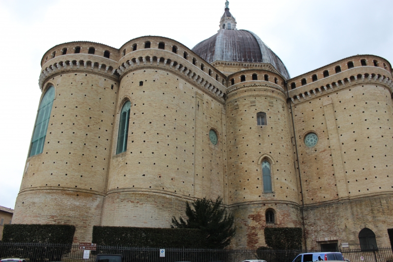 Fortifies walls of Loreto, Le Marche/Italy