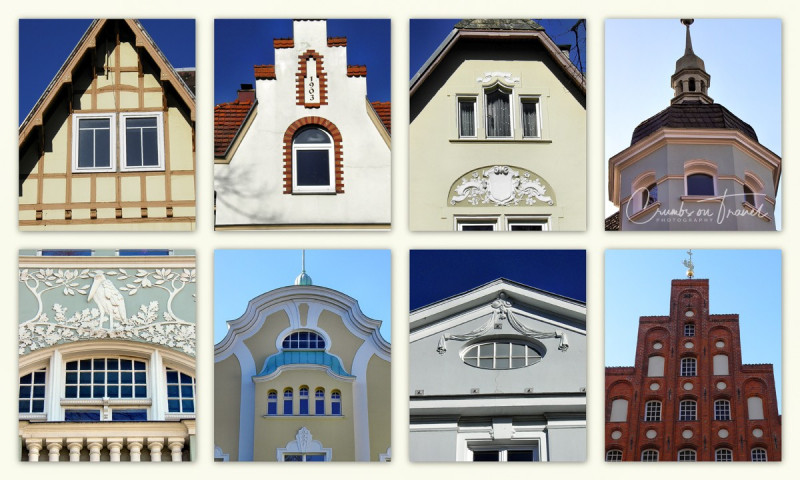 Impressions of Facades in Lübeck