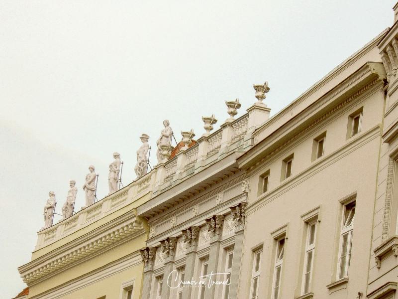 Impressions of Facades in Lübeck