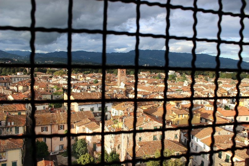 Behind the bares - Lucca, Tuscany