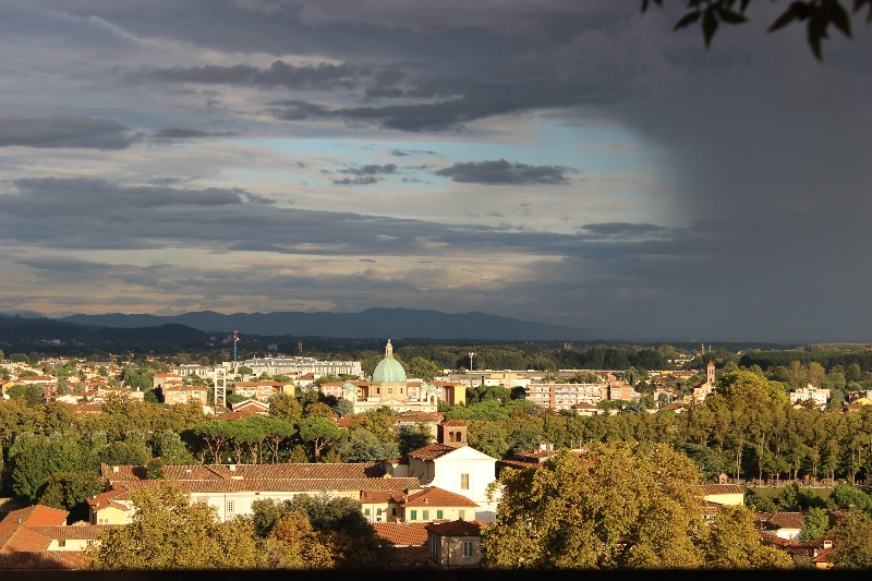 A view on Lucca, Tuscany