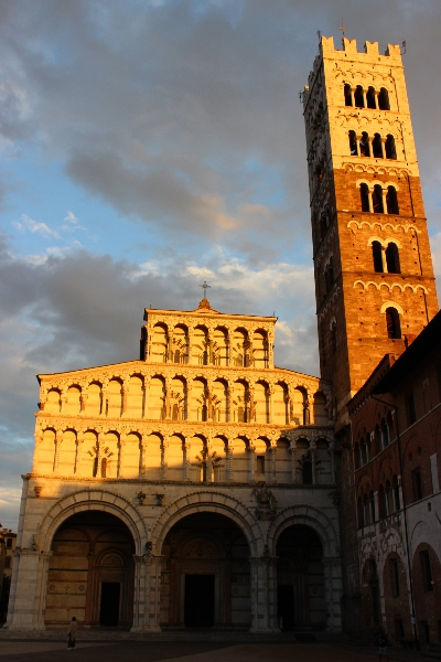 The cathedral of Lucca, Tuscany