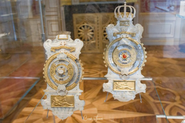 Perpetual calendars - Ludwigslust Palace