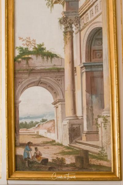 Oil painting - Ludwigslust Palace