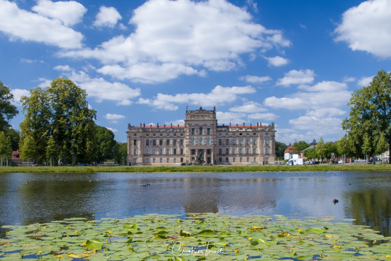 View of the Ludwigslust Palace