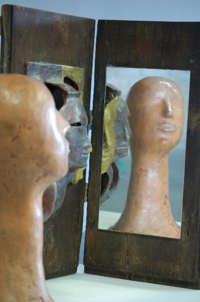 Mirror, mirror, on the wall, Luberti, Italian artist