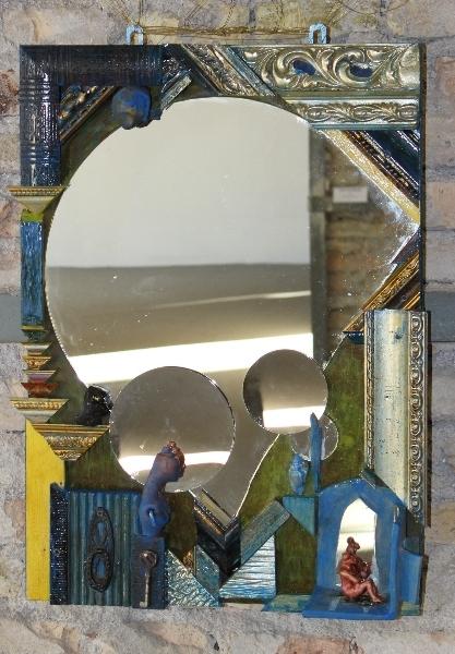 Mirror, Luberti, Italian artist