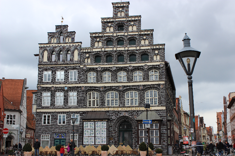 Town hall in Lüneburg, Lower Saxony, Germany