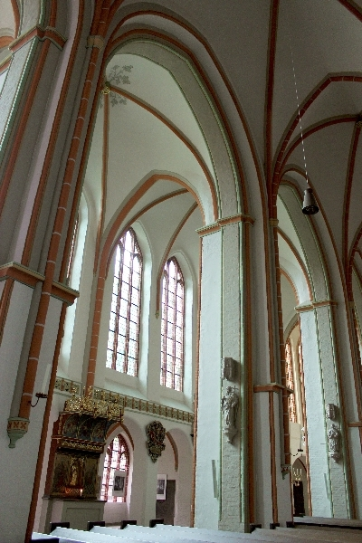 St. Michael church in Lüneburg, Lower Saxony, Germany