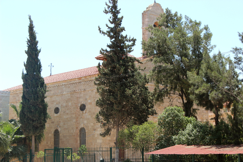 St. Mary's church at Madaba, Jordan
