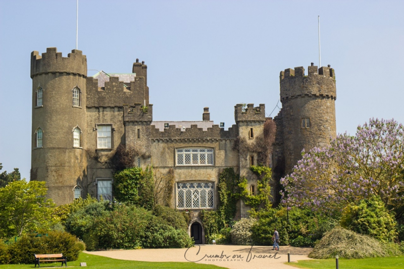 Malahide Castle in Co.Louth, Ireland