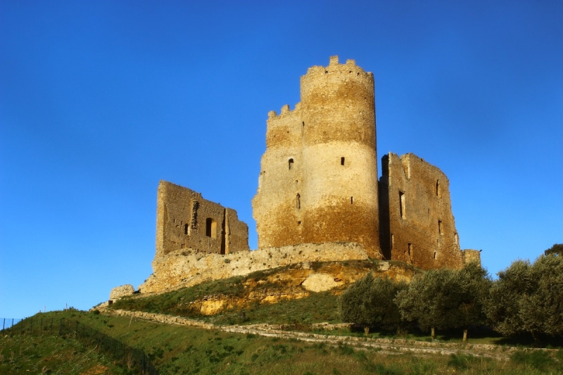 The castle of Mazzarino, Sicily/Italy