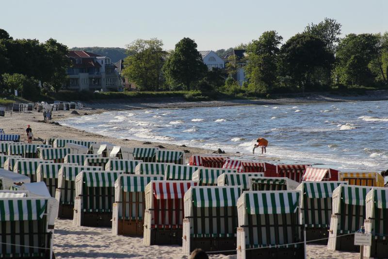 Beach baskets, Boltenhagen, Mecklenburg-Vorpommern