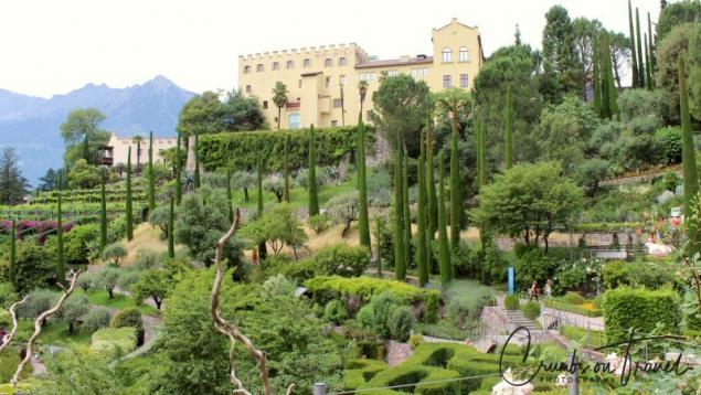 Schloss Trauttmansdorff in Merano, South Tyrol/Italy