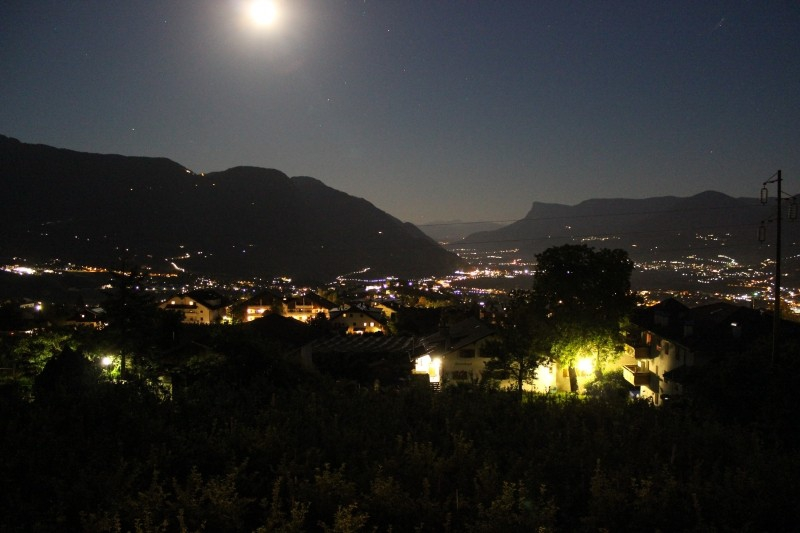Merano by night, South-Tyrol/Italy