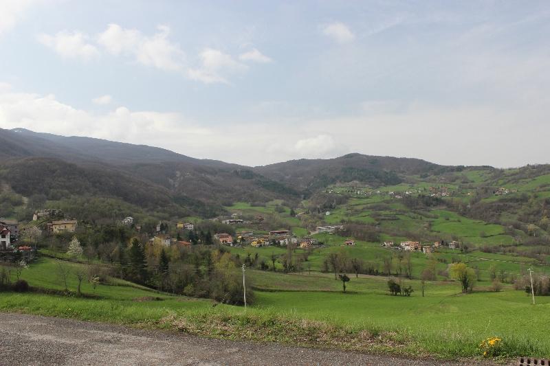 Landscape around Minozzo, Emilia-Romagna, Italy
