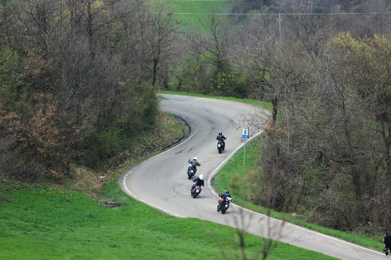 Bikers, Minozzo, Emilia-Romagna, Italy