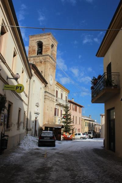 Streeets of Mombaroccio, Le Marche, Italy