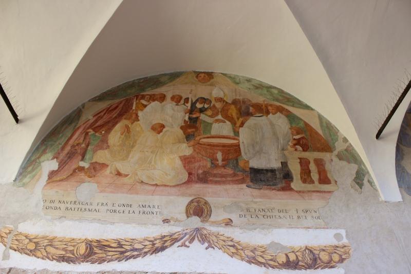 Cloister Saint Augustin, Mondolfo, Le Marche, Italy