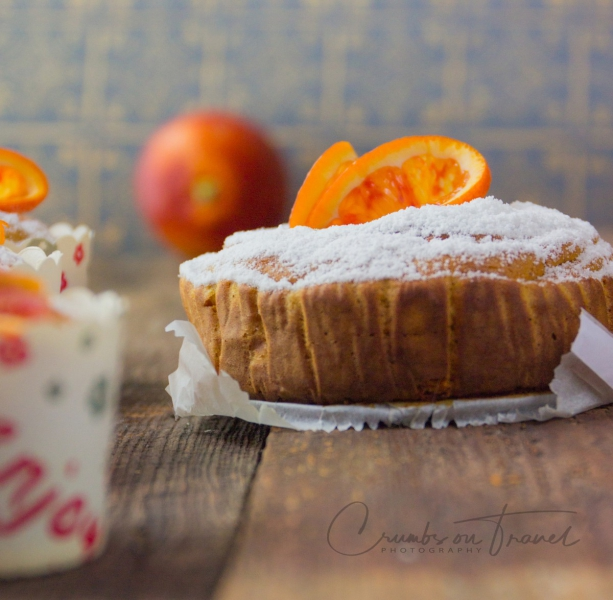 A gluten-free Moroccan orange almond cake