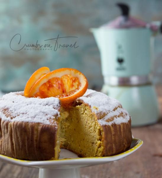 A gluten-free Moroccan orange almond cake
