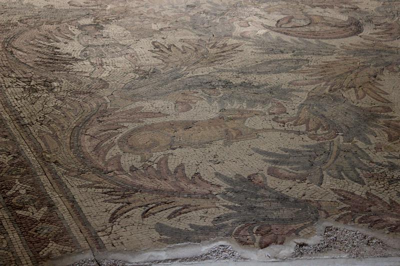 Mosaic at Mount Nebo, Jordan