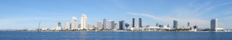 Panorama, San Diego, California/USA