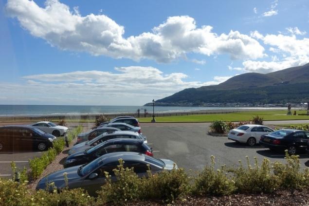 Beach in Newcastle. County Down/Northern Ireland
