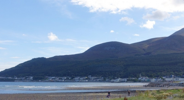 Mourne Mountains in Newcastle. County Down/Northern Ireland