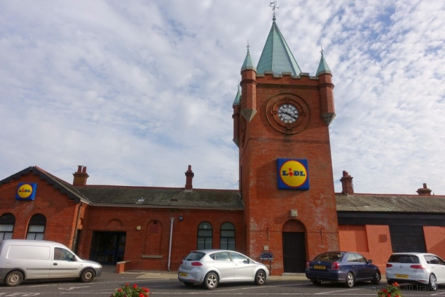 Old station in Newcastle. County Down/Northern Ireland