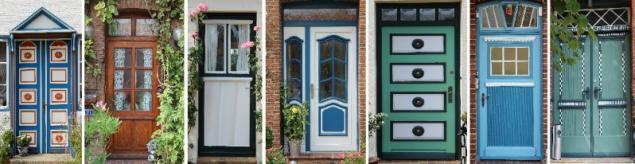 Old doors, Schleswig-Holstein