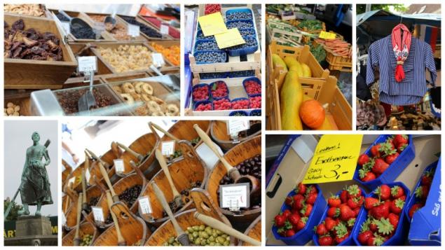 Market at Husum, North Sea