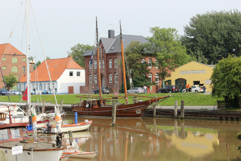 Töning  harbor, North Sea