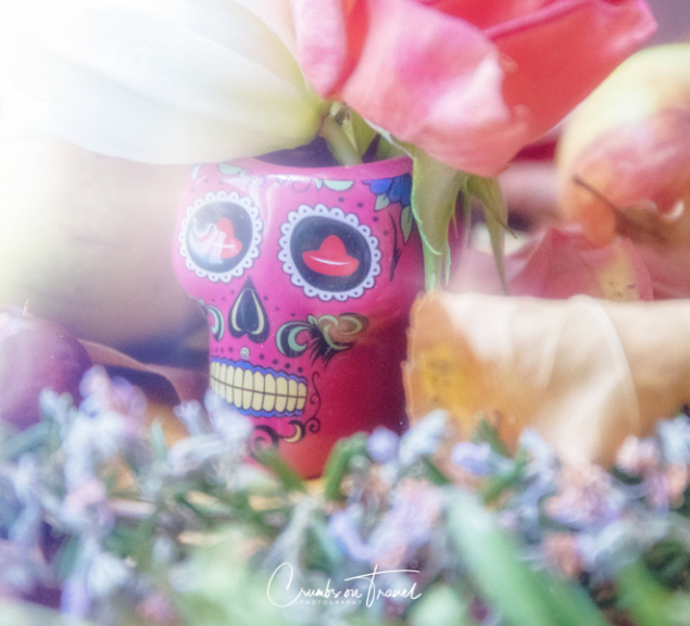Halloween vase