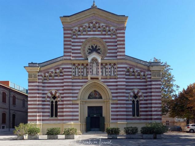 Church in Fano, Le Marche region/Italy