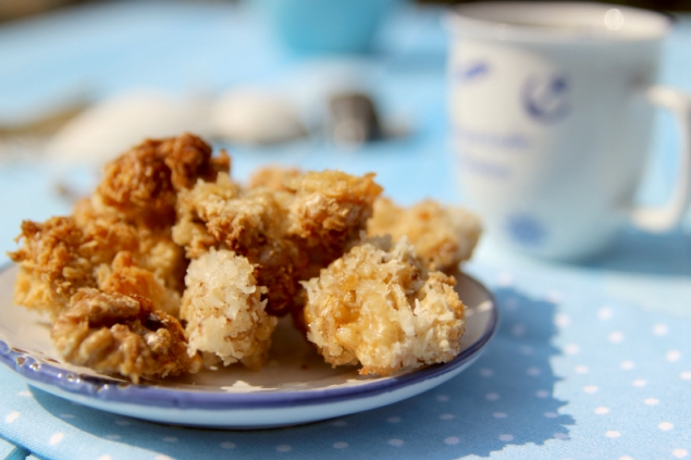 walnuts and coconut