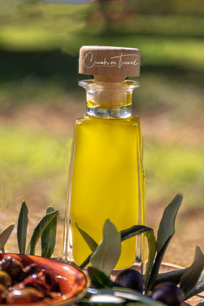 Olive oil from organic olives in Italy