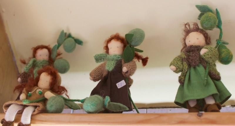 Dolls by Susanne Brunken, German artist
