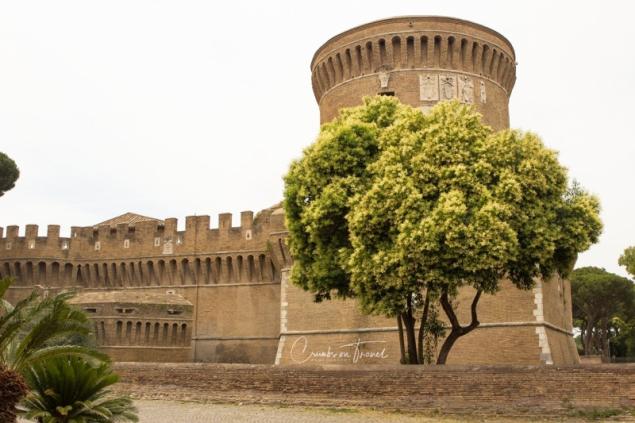 Castle Julius II, Borgo og Ostia Antica, Lazio/Italy