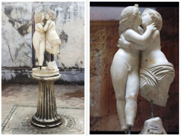 Amor and Psiche, Museo Ostiense, Ostia Antica, Lazio/Italy