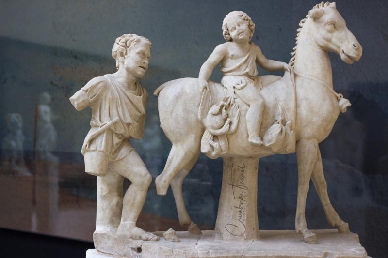 Sculpture, Museo Ostiense, Ostia Antica, Lazio/Italy