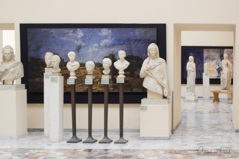 sculptures, Museo Ostiense, Ostia Antica, Lazio/Italy