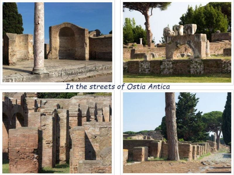 Views, Ostia Antica, Lazio/Italy